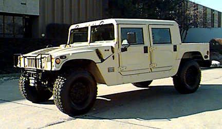 Hummer H1 1993 Model year changes.
