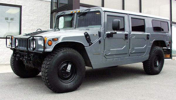 Diesels For Sale >> Hummer H1 1996 Model Year Changes