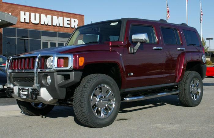 Hummer H3 Changes For 2008